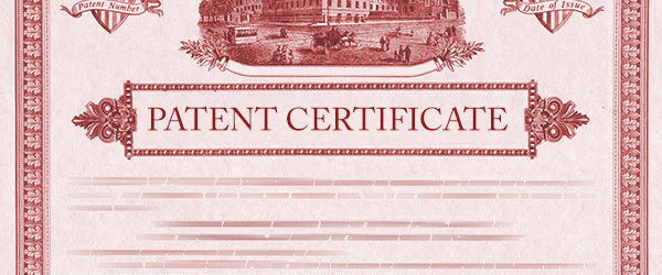 Patent certificate -- Legal Services Phuket