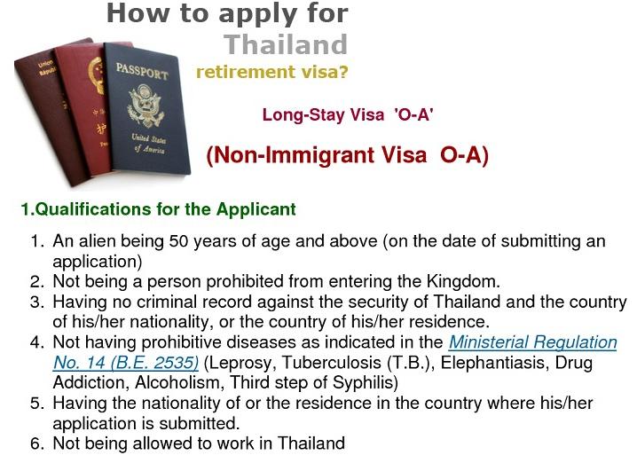 Retirement Visa Qualification in Thailand -- Phuket Law FIrm